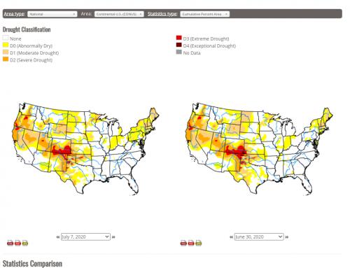 U.S. Drought Monitor