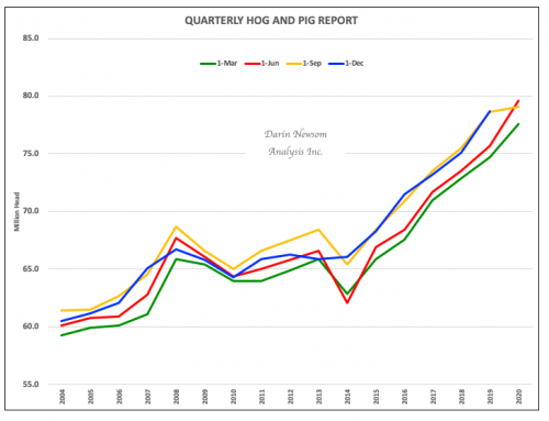 Quarterly Hogs and Pigs: An Oddity, But Not a Surprise