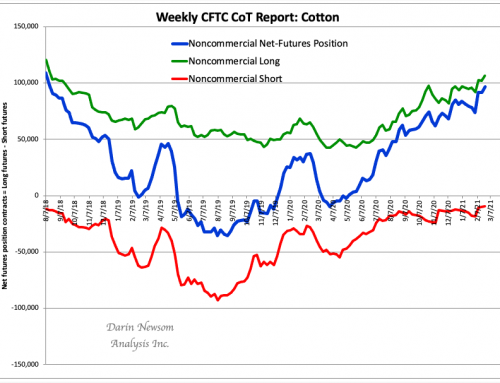CoT Cotton: Still Bullish, For Now