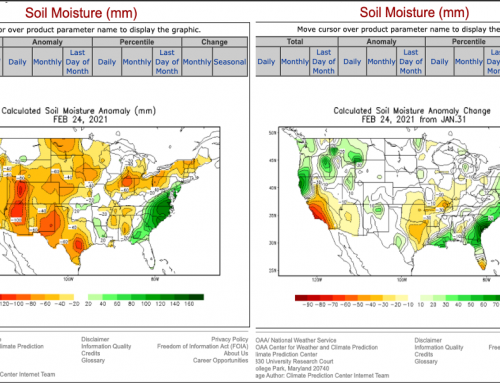 "US Soil Moisture: ""Desperately in Need…"""