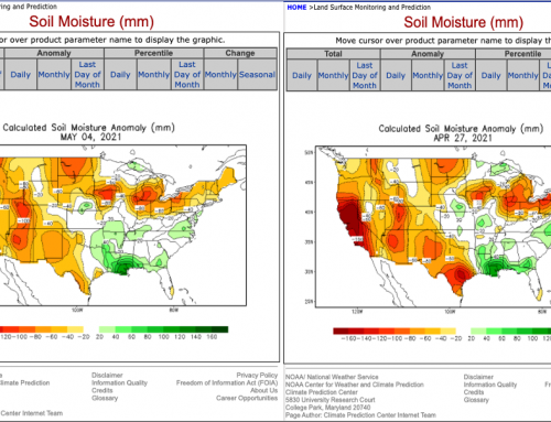 US Soil Moisture: Ch-Ch-Ch-Changes